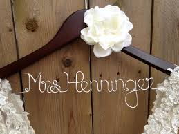 wedding dress hanger custom hanger wedding dress hanger bridal shower gift