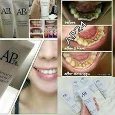 Pemutih Nh pemutih gigi ap24 whitening toothpaste ssn winmarket