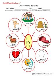 consonants sounds aussie childcare network