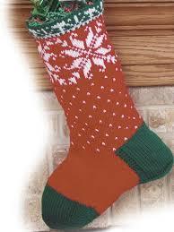 knitting pattern for christmas stocking free free christmas knitting patterns christmas snowflakes stocking