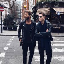 mens biker style boots chelsea boots all black men street style brought to you by tom