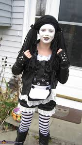 Rag Doll Halloween Costume Gothic Rag Doll Costume Photo 2 2