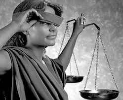 Justice Is Blind Justice Is Not Blind