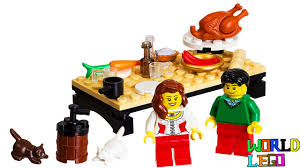 when was the first thanksgiving feast lego store exclusive thanksgiving feast poly bag with lego