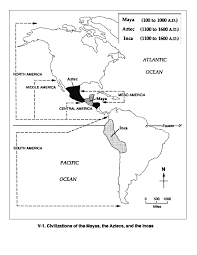 aztec mayan inca map 10 facts about the aztecs