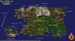 Oblivion Map Maps Of Tamriel General The Assimilation Lab