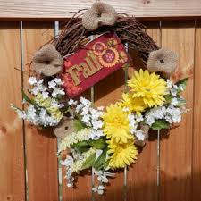 Grapevine Floral Design Home Decor The Best Fall Grapevine Wreath Products On Wanelo