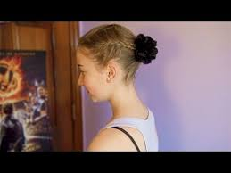 hip hop dance hairstyles for short hair quick easy and cute dance hairstyle tutorial youtube