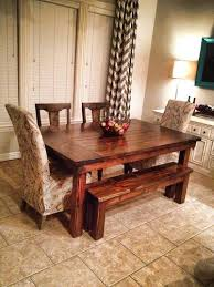 farmhouse table with bench and chairs farmhouse furniture tables and chairs from trent furniture table