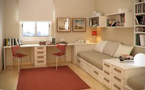 bedroom foxy modern teen bedroom with space saving beds and twin