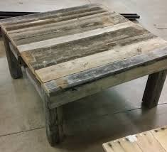 Wooden Pallet Coffee Table Coffee Tables Beautiful Pallet Coffee Table Reclaimed Vintage