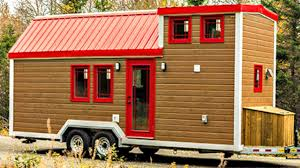 tiny house on wheels comfortable cozy country interior small