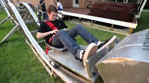 backyard roller coaster youtube