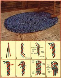 How To Make Braided Rug Lofty How To Make A Braided Rag Rug Imposing Ideas Diy Learn How