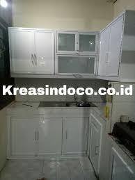 Kitchen Set Aluminium Kitchen Set Aluminium Pemasangan Di Jakarta Pusat Bengkel Las