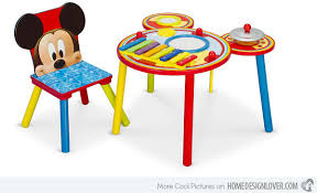 mickey mouse kids table 15 kid s table and chair sets for livelier activity time home
