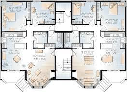 family floor plans multi family plan 64952 at familyhomeplans