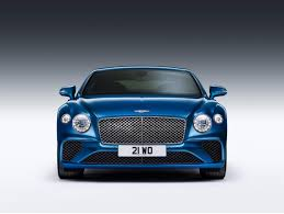 bentley coupe blue stock available for order new 2019 bentley continental gt st