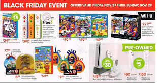 wii u console black friday deals gamestop u0027s black friday ads leaked early nerd reactor