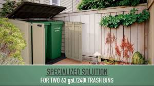 Keter Plastic Keter Store It Out Max Outdoor Plastic Garden Storage Shed 145 5