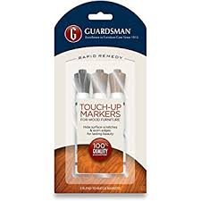Fix Scratches In Wood Furniture by Amazon Com Guardsman Wood Touch Up Markers 3 Colors Touch Up