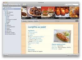 logiciel recette cuisine test de yummysoup macgeneration