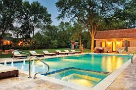 Luxury Pool Design - stunning pool and patio ideas stone patio ideas awesome pool