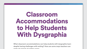 printable writing paper for 2nd grade accommodations to help students with dysgraphia writing issues