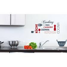stiker cuisine sticker cuisine avec inscription cuisine papier peint sticker