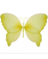 Small Yellow Box Bedroom Baby Mobiles Kids Bedroom Hanging Mobile Butterfly Decorations