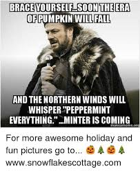 Brace Yourself Meme - brace yourself soon the era ofpumpkin will fall and the northern