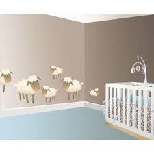 stickers mouton chambre bébé moutons et agneaux