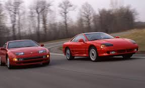 pink mitsubishi 3000gt nissan 300zx turbo vs dodge stealth r t turbo u2013 archived