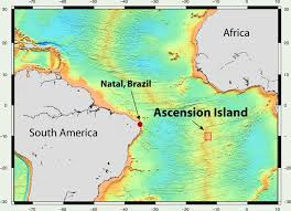 ascension islands map dive and discover expedition 12 south atlantic mission