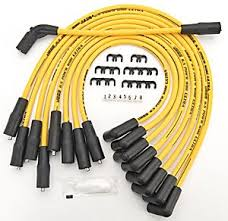 Jegs Auto Parts Amazon Com Jegs Performance Products 40224 8 5mm Yellow Ultra Pow