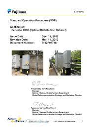 b 1 b 12 f0371b standard operation procedure