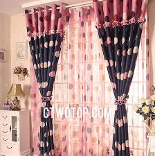 Pink And Navy Curtains Cool Pink And Navy Curtains Decorating With Beautiful Dreamy