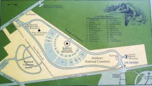 Gettysburg Map Focusing On Travel Gettysburg National Military Park U S Civil