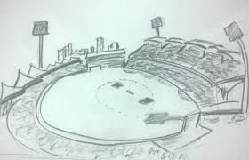 adelaide oval cricket stadium by schumanth on deviantart