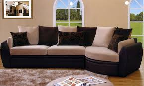Leather And Suede Sectional Sofa Amazing Suede Sectional High Resolution Wallpaper