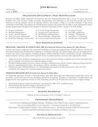Training Resume Format Cover Letter Corporate Trainer Resume Sample Resume Sample For