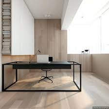 Minimalist Homes Office Design Modern Grey And White Nuance Office Interior