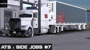 american truck simulator side jobs 7 new spread axle n c