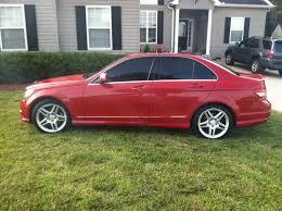 mercedes c300 amg wheels oem w204 c300 18 amg wheels continental dws tires mbworld org