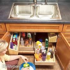 build corner kitchen sink cabinet 27 lifehacks for your tiny kitchen