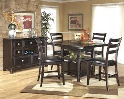 dining room counter height sets counter height dining set with buffet
