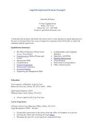 receptionist cover letter sample no experience gallery letter