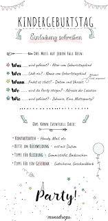 einladungssprüche kindergeburtstag die perfekte einladung zum kindergeburtstag schreiben minidrops