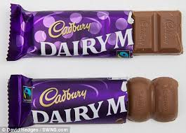 Where To Buy Chocolate Rocks Cadbury Cuts The Size Of Dairy Milk Chocolate Bar But Keeps The