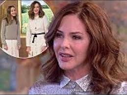 brondie hair trinny woodall talks miscarriages ivf on itv this morning youtube